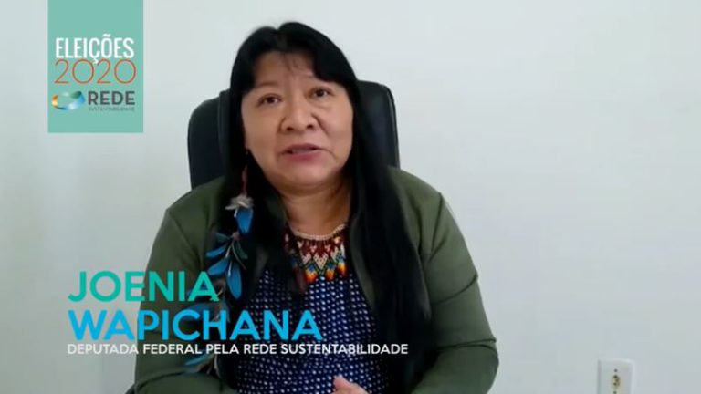 Joenia Wapichana – Vote Rede!