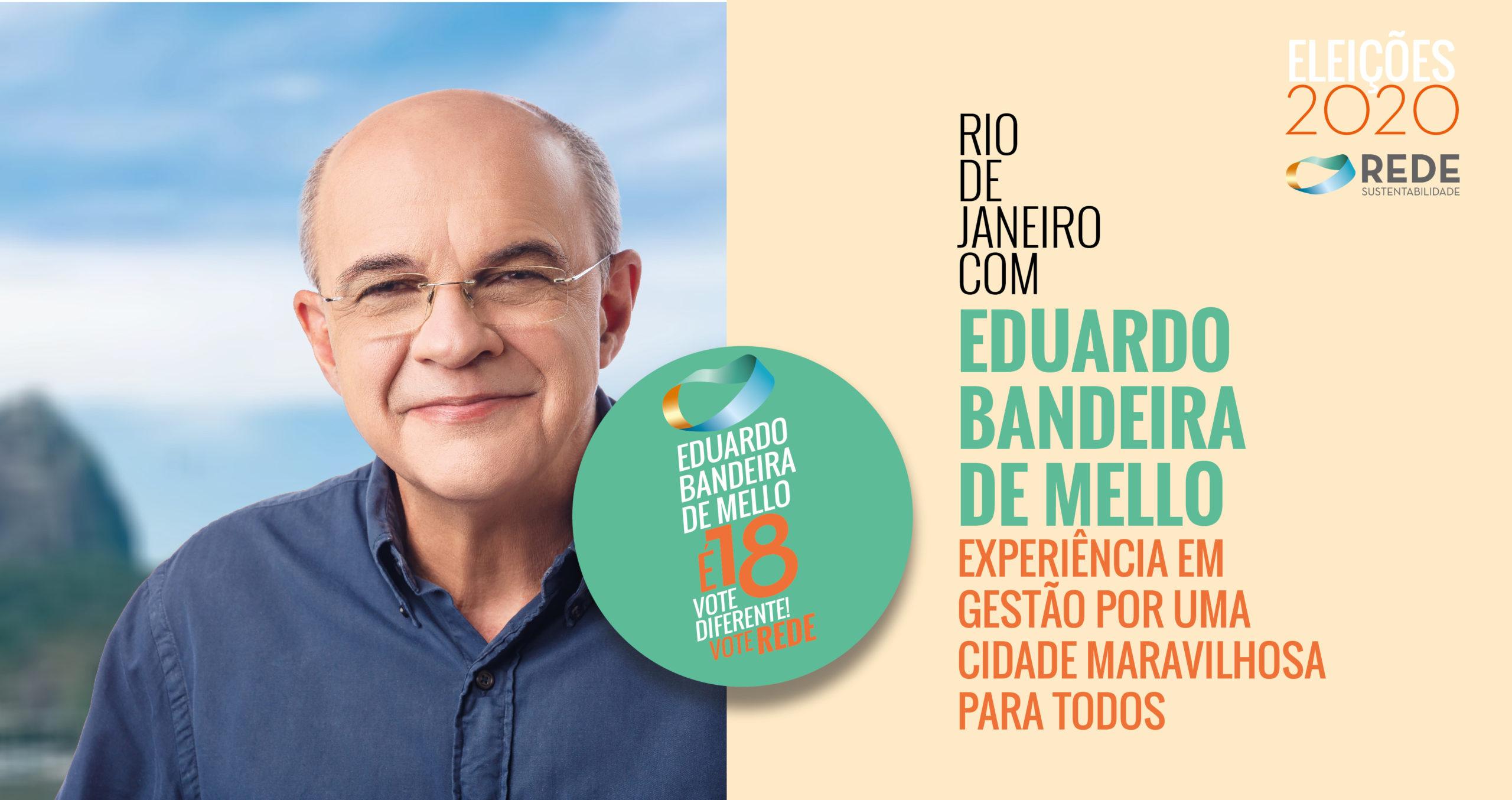 EDUARDO BANDEIRA DE MELLO: experiência em gestão por uma cidade maravilhosa para todos