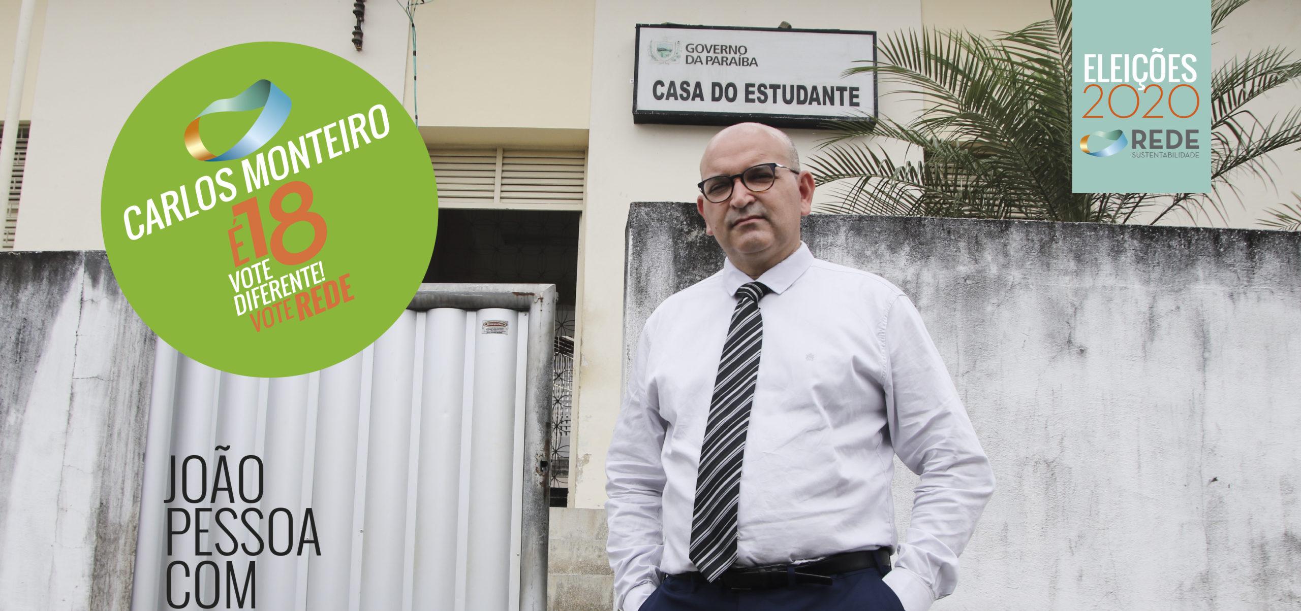 Carlos Monteiro: compromisso com as pessoas e com a democracia