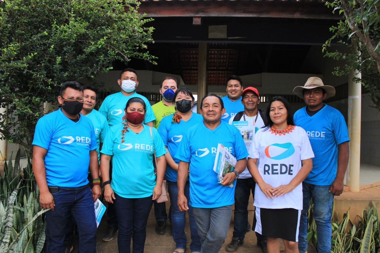 Porta-voz nacional da Rede visita Roraima e reúne com filiados no município de Uiramutã